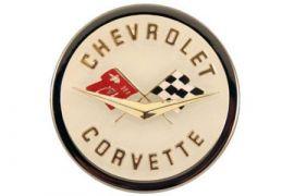 58-62 Corvette Emblem Metal Sign