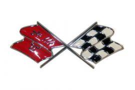 68-72 Corvette Nose Emblem Metal Sign