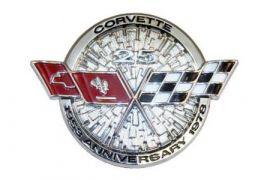 78 Corvette Nose Emblem Metal Sign