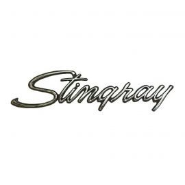 69-76 Corvette Sting Ray Metal Sign (Large)