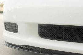2006-2013 Corvette Z06/GS Blakk Stealth Laser Mesh Front Driving Light Grill