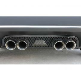 2005-2013 Corvette Blakk Stealth Laser Mesh Exhaust Filler Panel