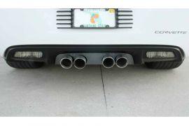 2006-2013 Corvette Z06 & NPP Blakk Stealth Exhaust Port Filler Panel