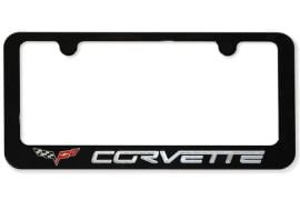 2005-2013 Corvette Color Matched Billet C6 License Plate Frame