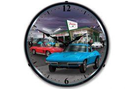 1966 Corvette Lighted Clock