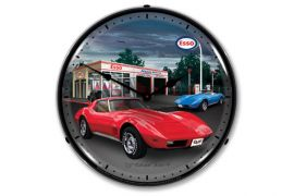 1974 Corvette Lighted Clock