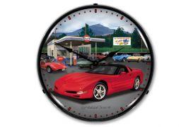 C5 Corvette Lighted Clock