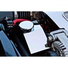 2005-2013 Corvette Stainless Power Steering Pump Cover