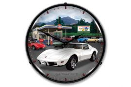 1976 Corvette Lighted Clock