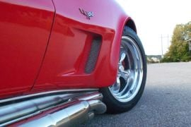 73-79 Side Fender Grille Kit (Black Anodized Small Pattern)