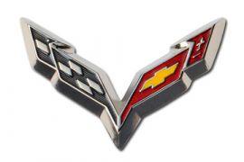 C7 Corvette Beveled Lapel Pin