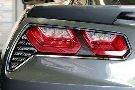 2014-2018 Corvette Matrix Series Back-Up Light Grilles