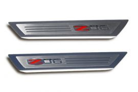 06-13 Stainless Executive Series Z06 Door Sill Covers