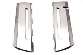 14-18 Stainless Fuel Rail Overlays w/Illumination (Accessory Color)