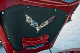 14-19 Hood Liner Stainless Emblem