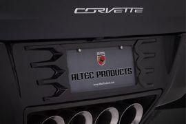 14-19 Altec Rear License Plate Frame14-19 Altec Rear License Plate Frame