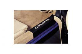 1984-1987 Corvette Sill Protectors (Clear or Black)