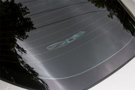 06-13 Rear Cargo Shade w/Embroidered Z06 Emblem