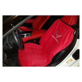 14-19 Seat Armour Cover w/ C7 Emblem