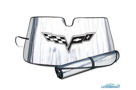 05-13 Windshield Roll-Up Sun Shield w/Emblem