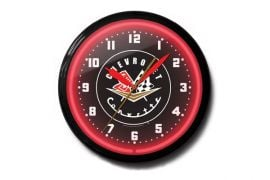 1956-1957 Corvette 20in Neon Clock