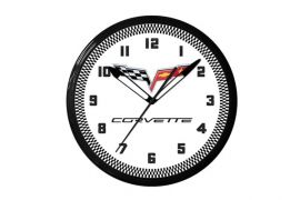 C6 Corvette 20in Neon Clock