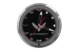 C7 Stingray Corvette 20in Neon Clock