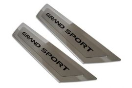 05-13 Executive Stainless Door Sill w/Carbon GRAND SPORT Script