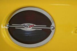97-04 Stainless Tail Light Trim w/50th Emblem