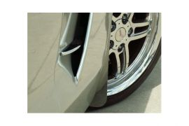 97-04 Stainless Front Splash Guards (2pc)