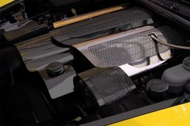 05-07 LS2 Perforated Stainless Fuel Rail Cover
