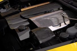 05-07 LS2 Perforated Stainless Fuel Rail Cover (Snap-On)