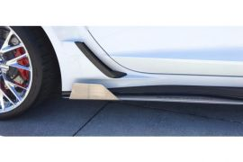 14-19 Stainless Side Skirt Extension Fins