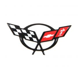 97-04 Steering Wheel Domed Emblem