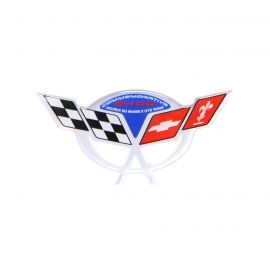 04 Commemorative Steering Wheel Domed Emblem