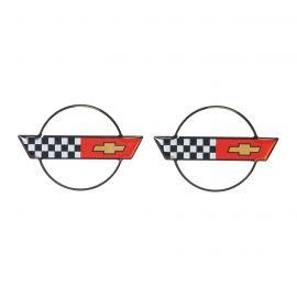 "84-96 Wheel Center Cap Domed Emblem (2.27"" x 1.87"")"