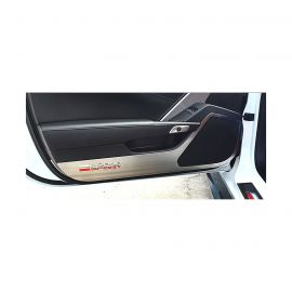17-19 Stainless Door Guards w/Grand Sport