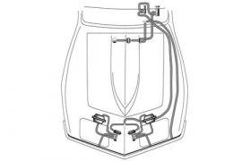 73-79 Headlight Vacuum Hose & T Kit