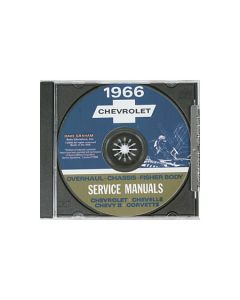 1966 Corvette Shop/Service Manual on CD