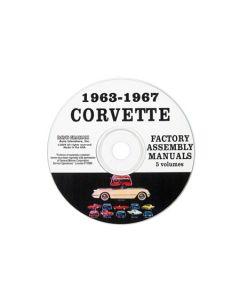 1963-1967 Corvette Assembly Manuals on CD
