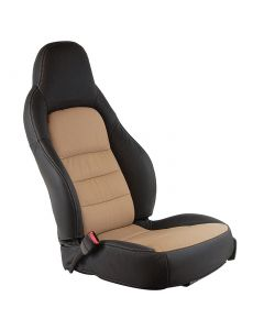 05-11 Two-Tone STD Seat Cover Set (100% Leather)