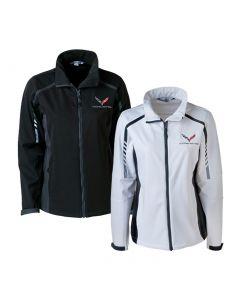 Ladies C7 Corvette Embark Soft Shell Jacket