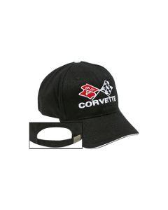 Cross Flags Black Hat