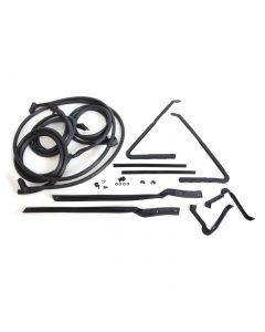 64-66 Conv Deluxe Body Weatherstrip Kit