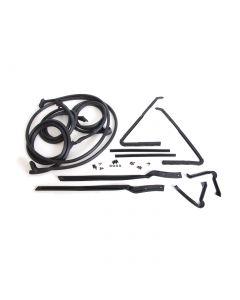 67 Conv Deluxe Body Weatherstrip Kit