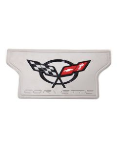97-04 Billet Exhaust Plate w/C5 Emblem