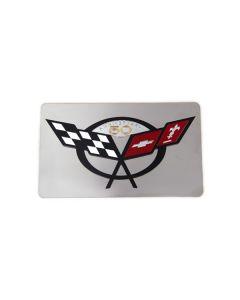 97-04 Exhaust Enhancer Plate w/50th Emblem