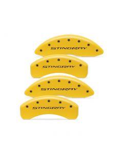 14-19 Brake Caliper Covers w/ Stingray Script (Body Color)