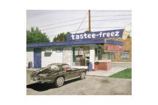 The Tastee Freez - Dana Forrester Print