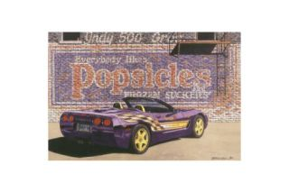 The Popsicle - Dana Forrester Print